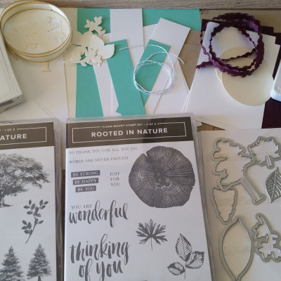 New Rooted In Nature Online Class Stamping with DonnaG!