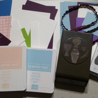 New Stampin Up! Varied Vases Online Card Class Designed by Stamping with DonnaG!