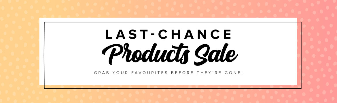 Last Chance products slider
